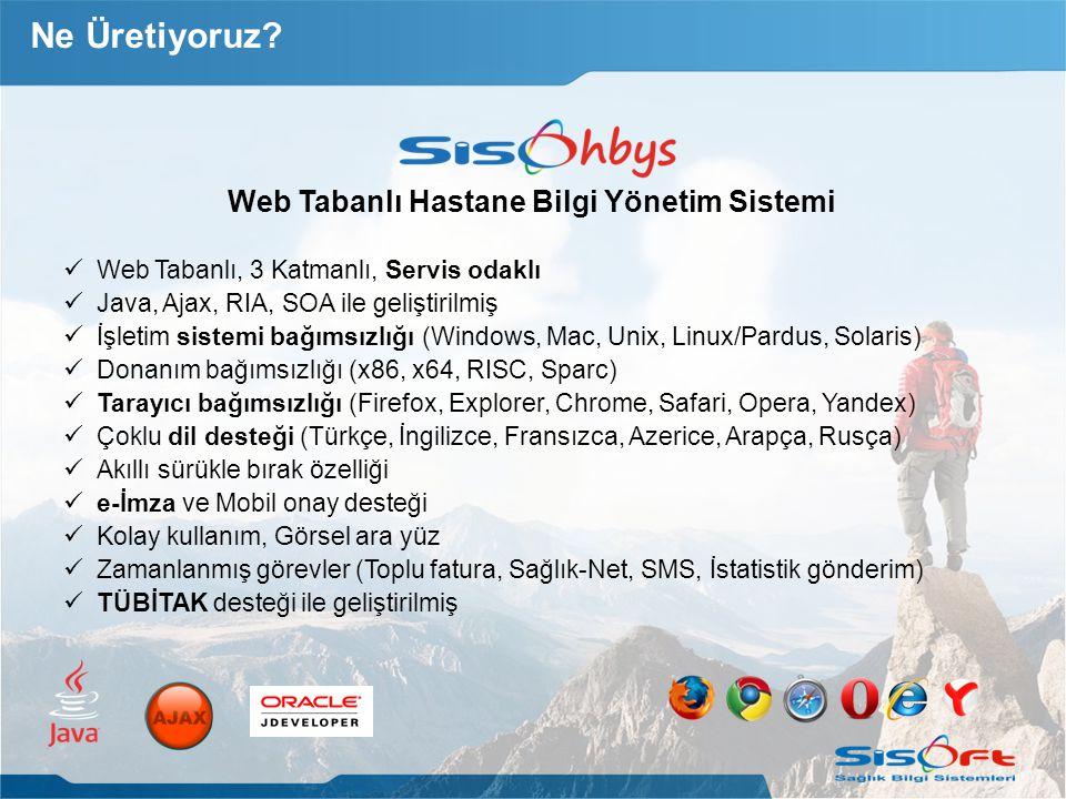 Web Tabanlı Hastane Bilgi Yönetim Sistemi