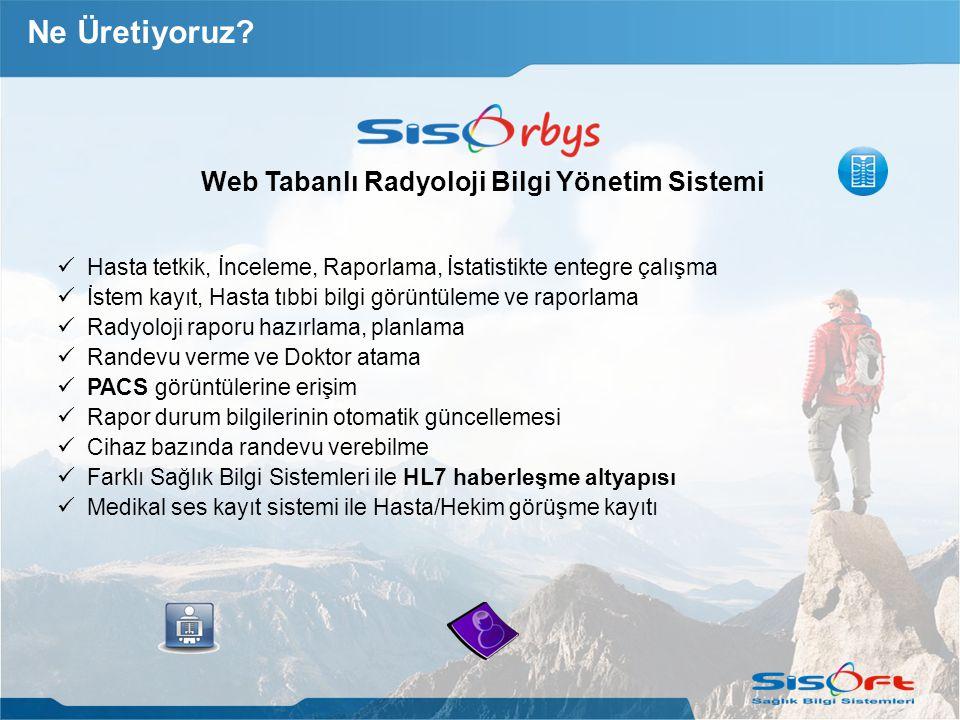 Web Tabanlı Radyoloji Bilgi Yönetim Sistemi