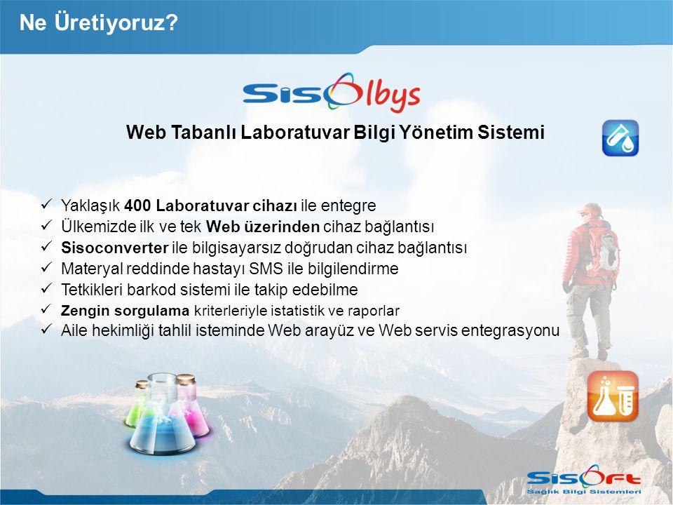 Web Tabanlı Laboratuvar Bilgi Yönetim Sistemi