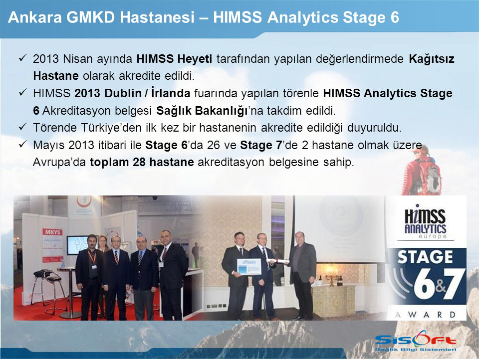 Ankara GMKD Hastanesi – HIMSS Analytics Stage 6