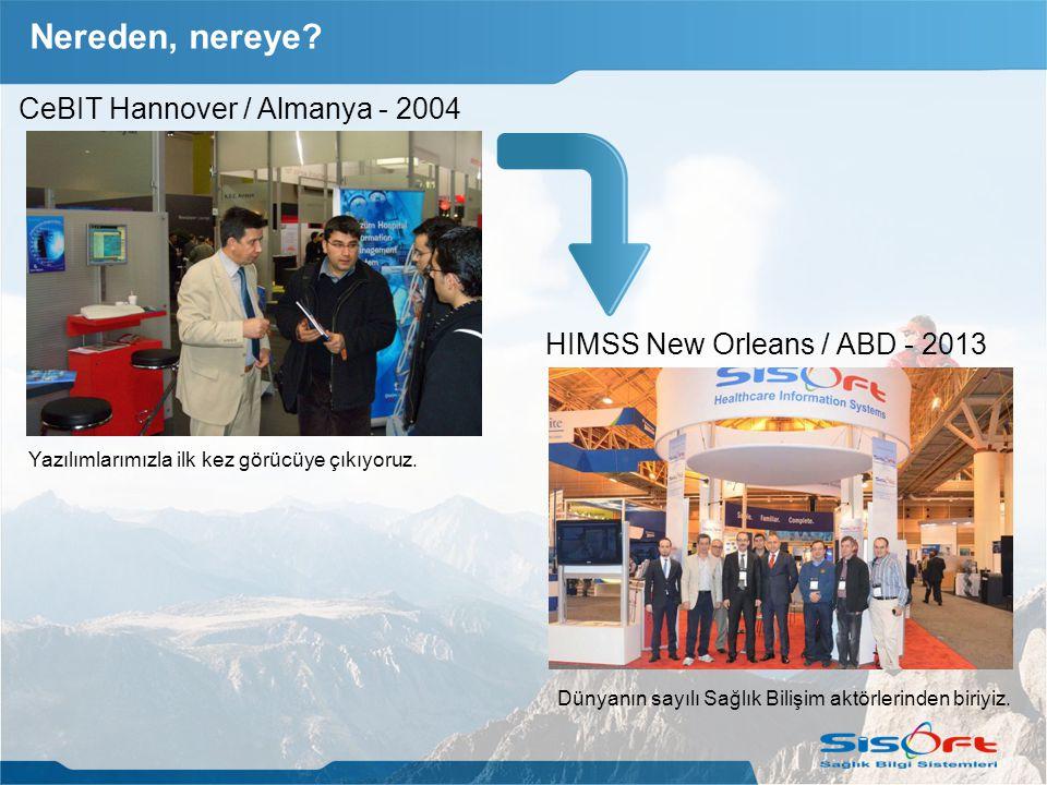 Nereden, nereye CeBIT Hannover / Almanya - 2004