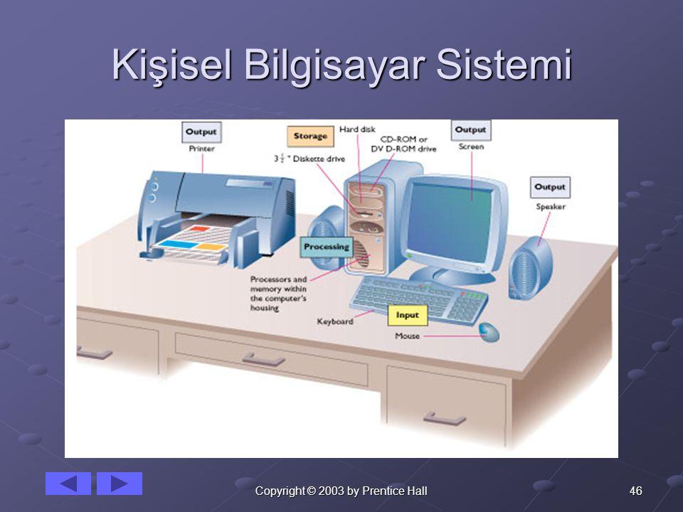 Kişisel Bilgisayar Sistemi