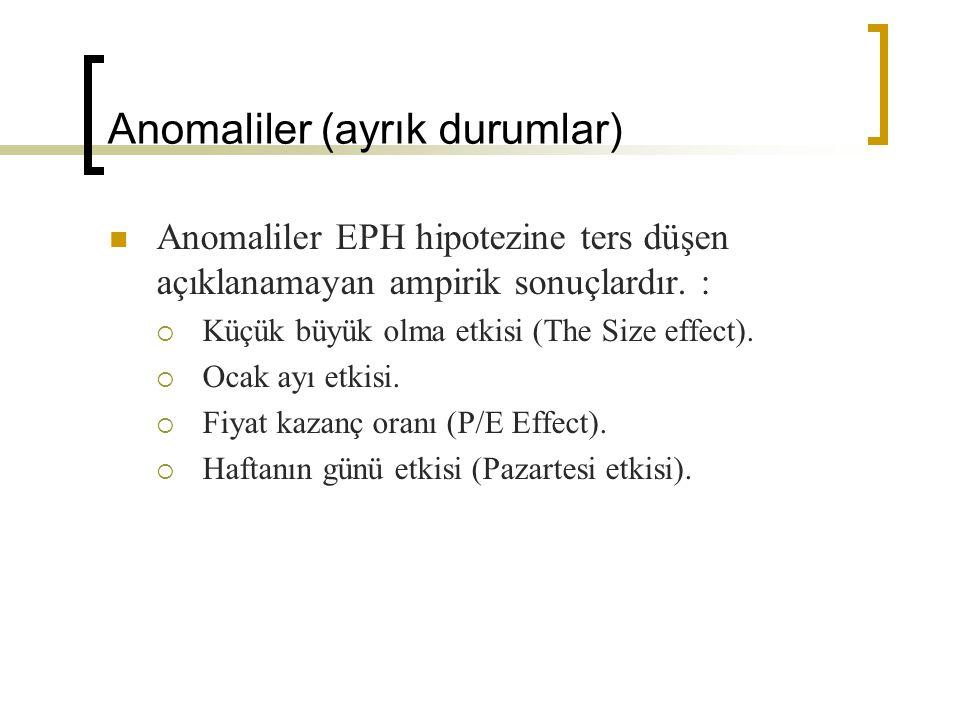 Anomaliler (ayrık durumlar)