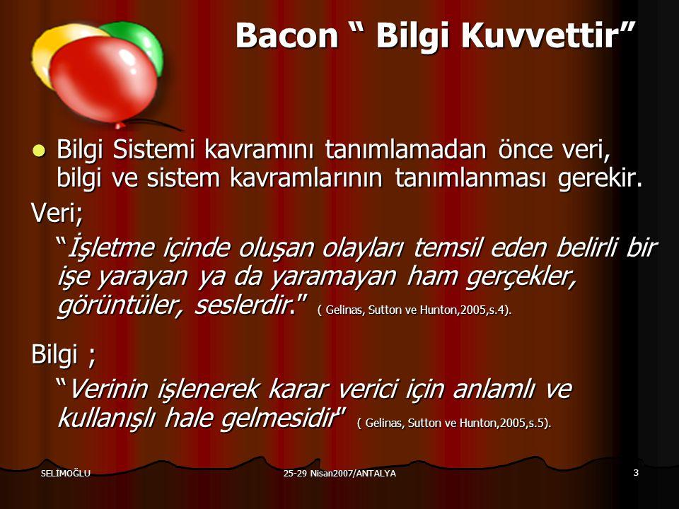 Bacon Bilgi Kuvvettir