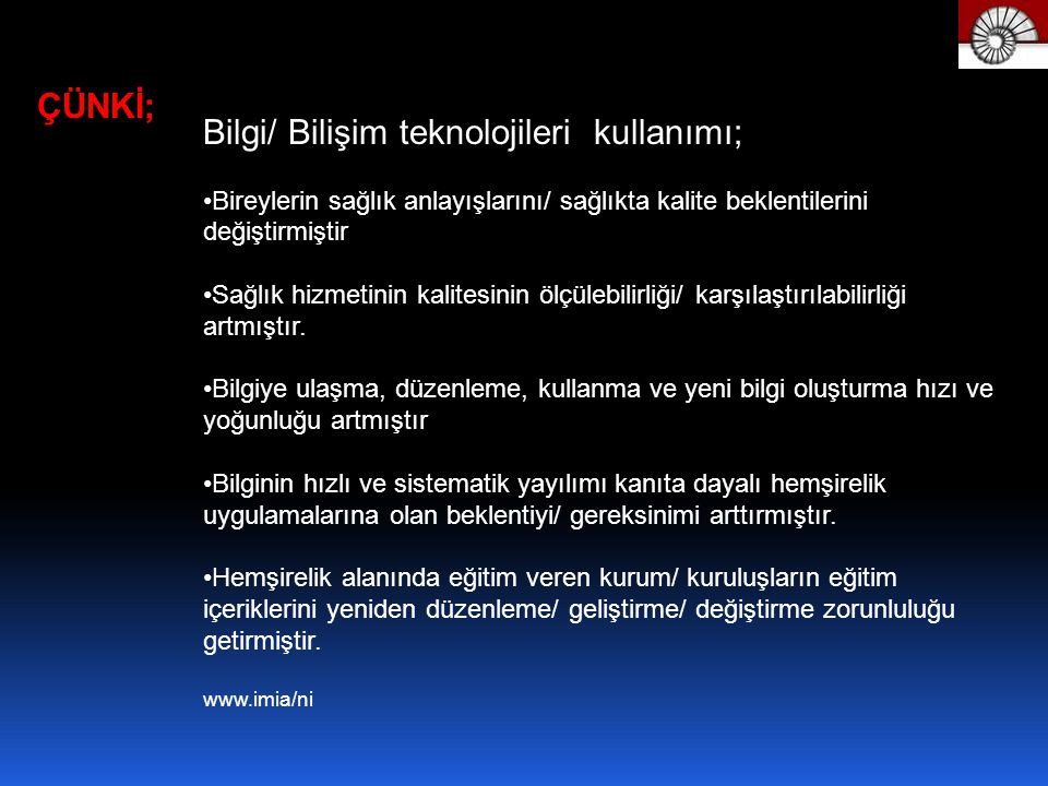 Bilgi/ Bilişim teknolojileri kullanımı;