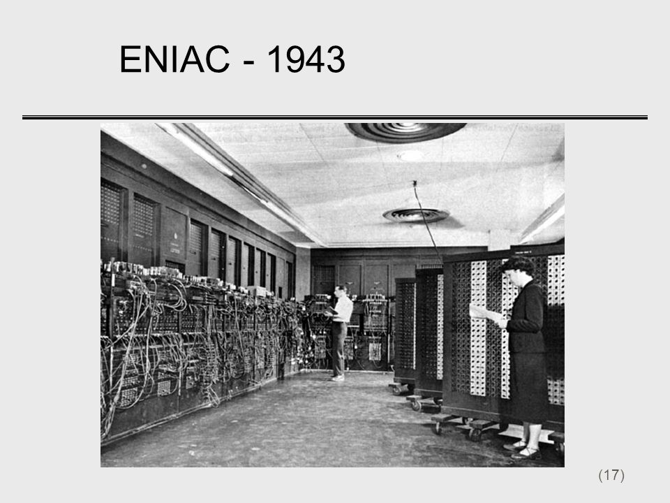 ENIAC - 1943