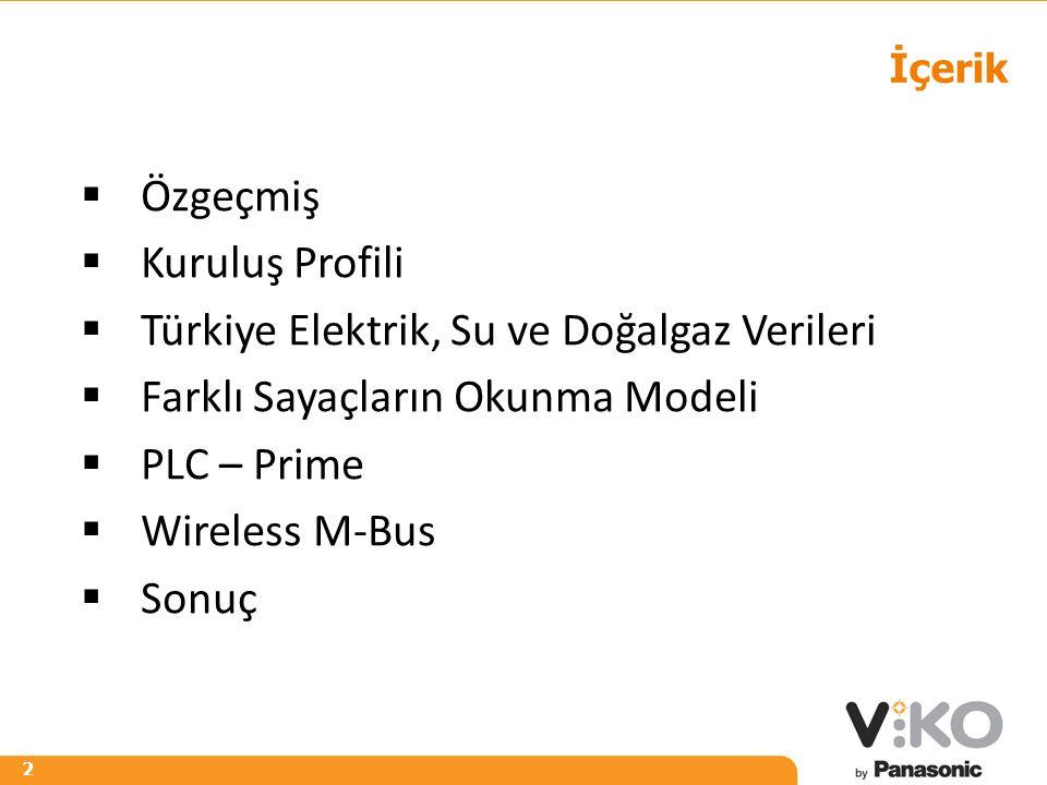 Türkiye Elektrik, Su ve Doğalgaz Verileri