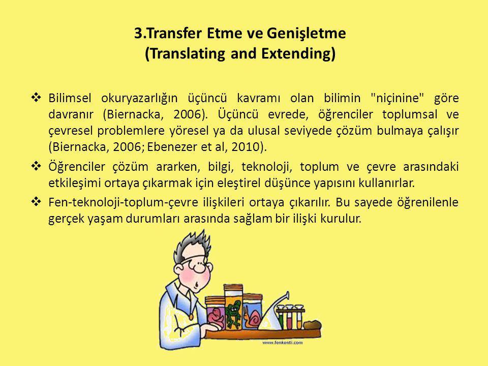 3.Transfer Etme ve Genişletme (Translating and Extending)