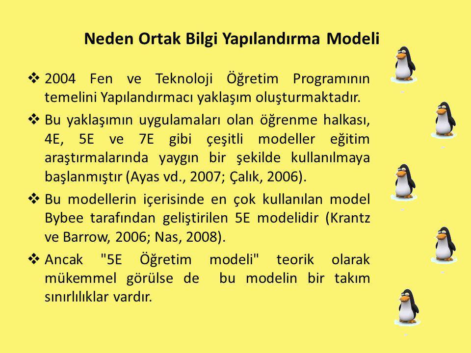 Neden Ortak Bilgi Yapılandırma Modeli