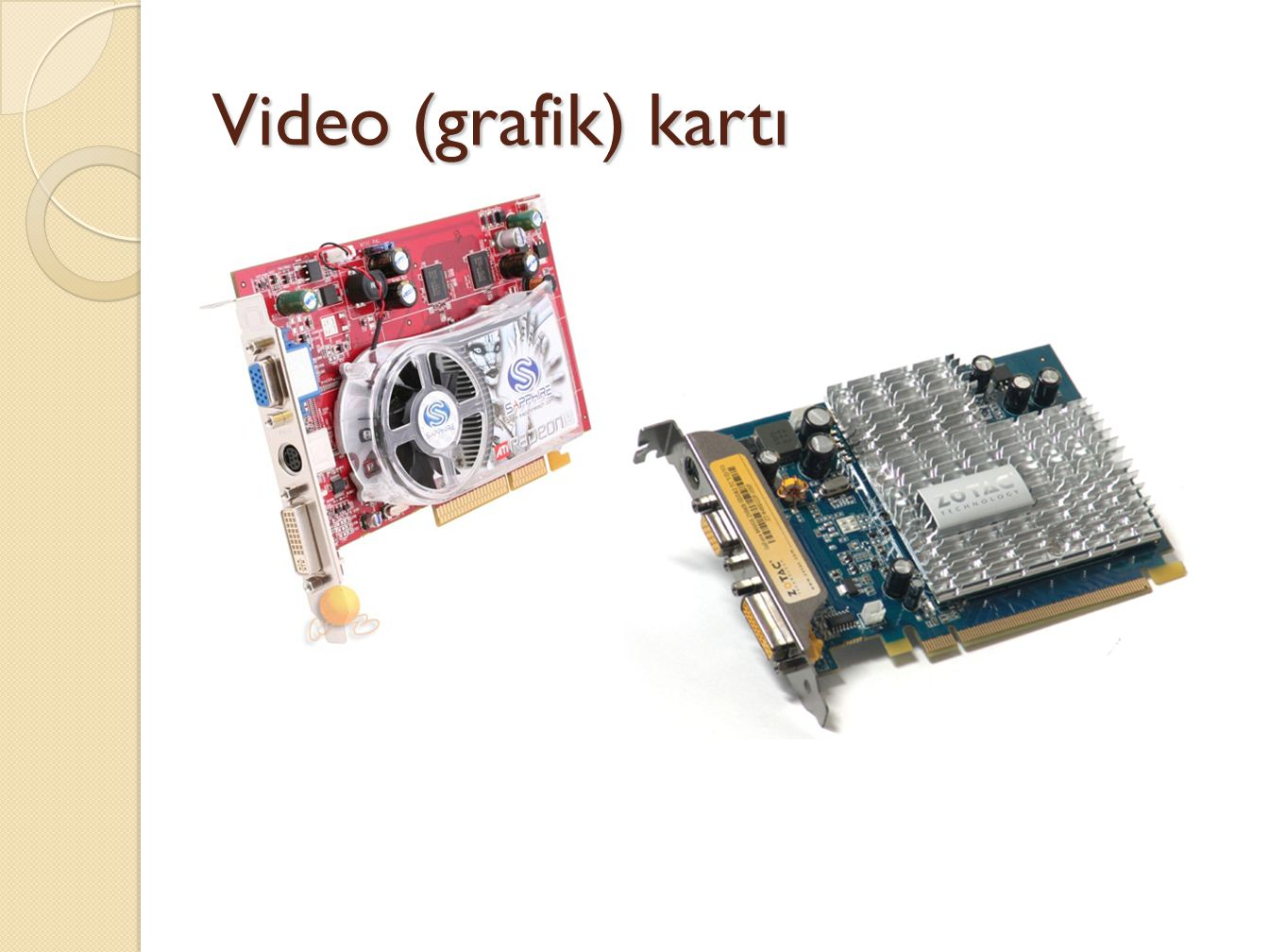 Video (grafik) kartı