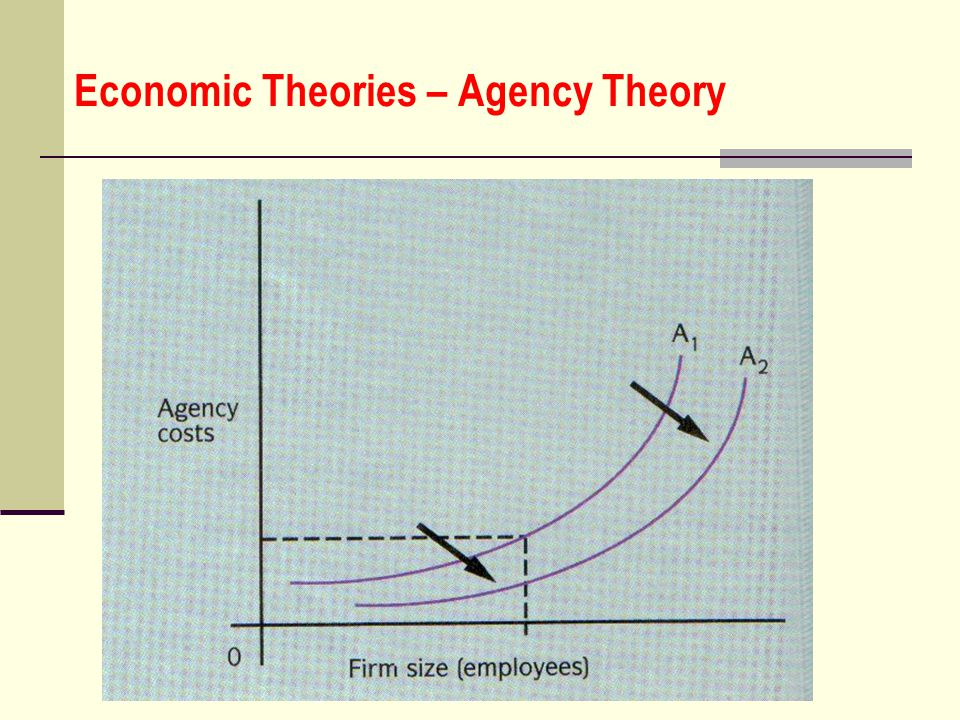 Economic Theories – Agency Theory