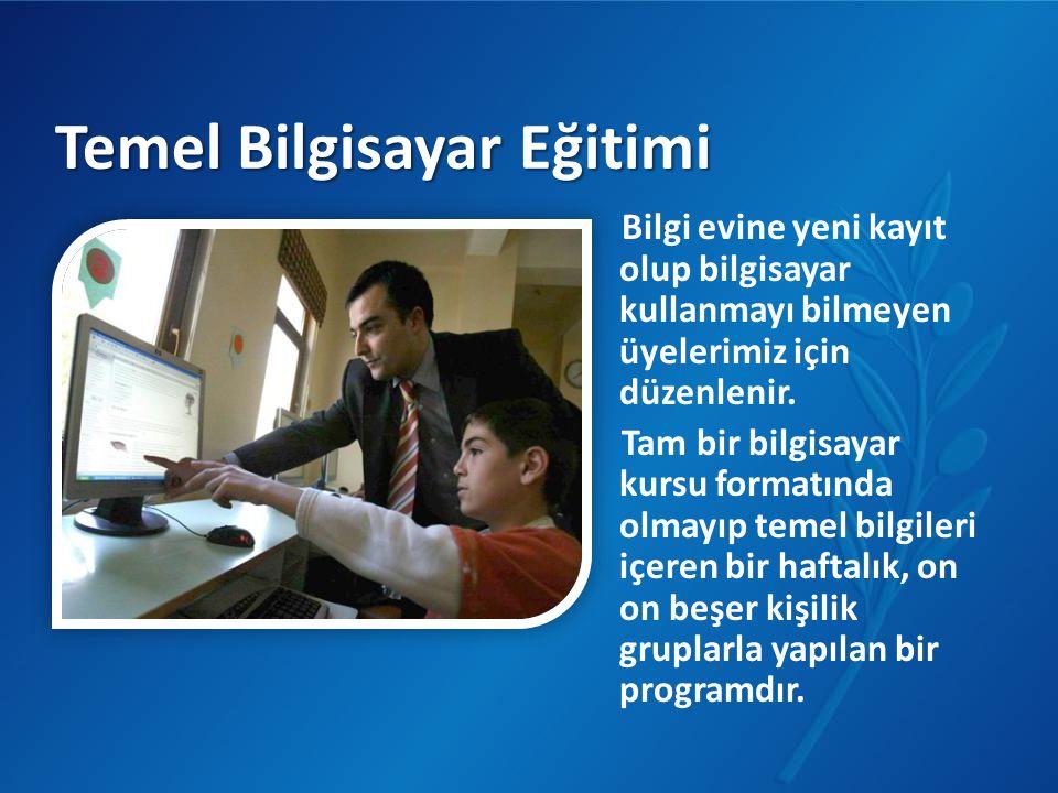 Temel Bilgisayar Eğitimi