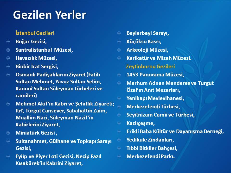 Gezilen Yerler İstanbul Gezileri Beylerbeyi Sarayı, Boğaz Gezisi,