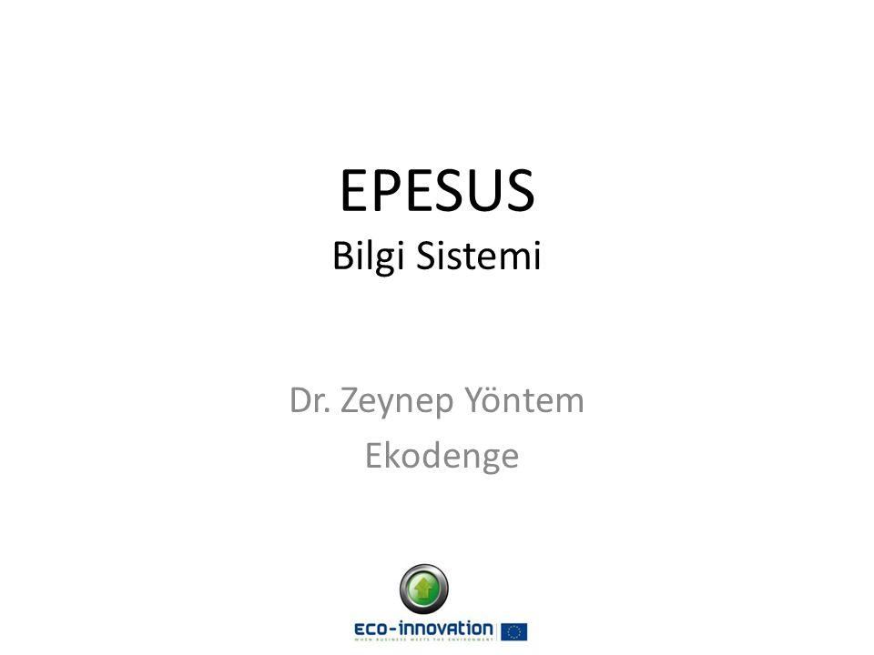 Dr. Zeynep Yöntem Ekodenge