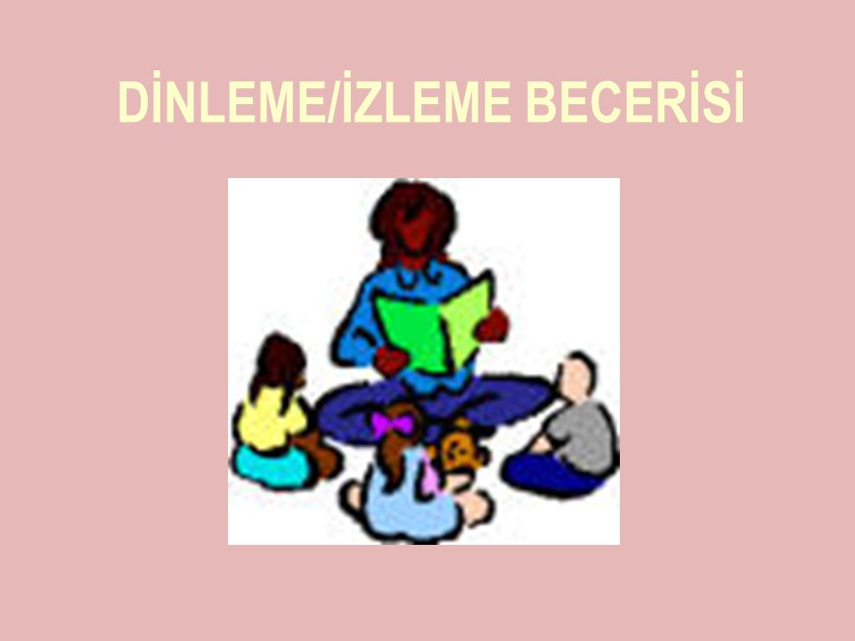 DİNLEME/İZLEME BECERİSİ