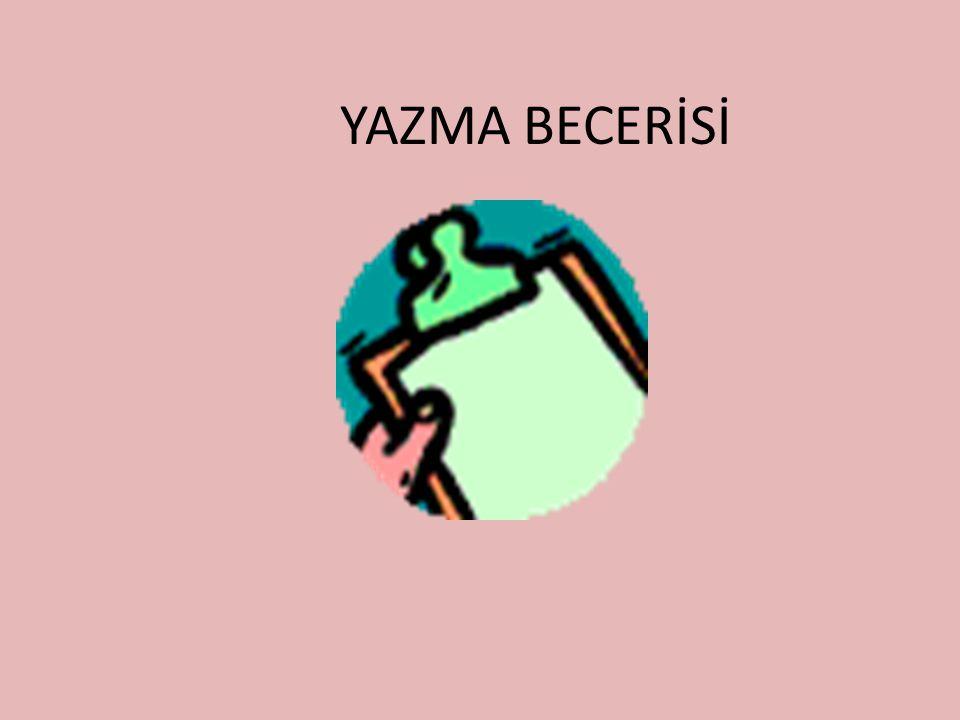 YAZMA BECERİSİ