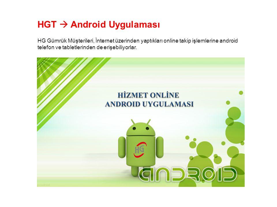 HGT  Android Uygulaması