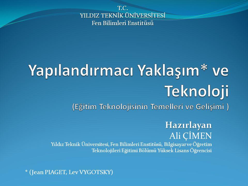 T.C. YILDIZ TEKNİK ÜNİVERSİTESİ Fen Bilimleri Enstitüsü