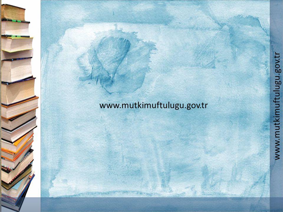 www.mutkimuftulugu.gov.tr www.mutkimuftulugu.gov.tr