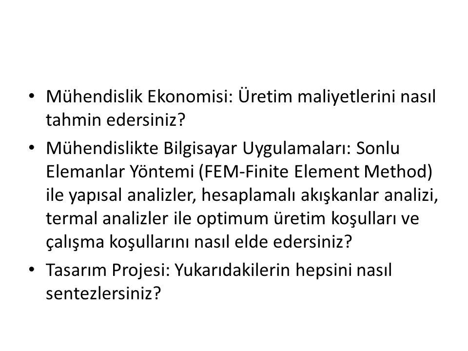 Mühendislik Ekonomisi: Üretim maliyetlerini nasıl tahmin edersiniz