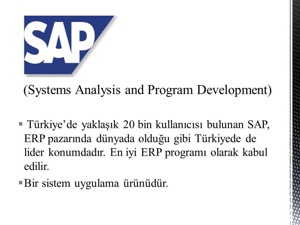 (Systems Analysis and Program Development)