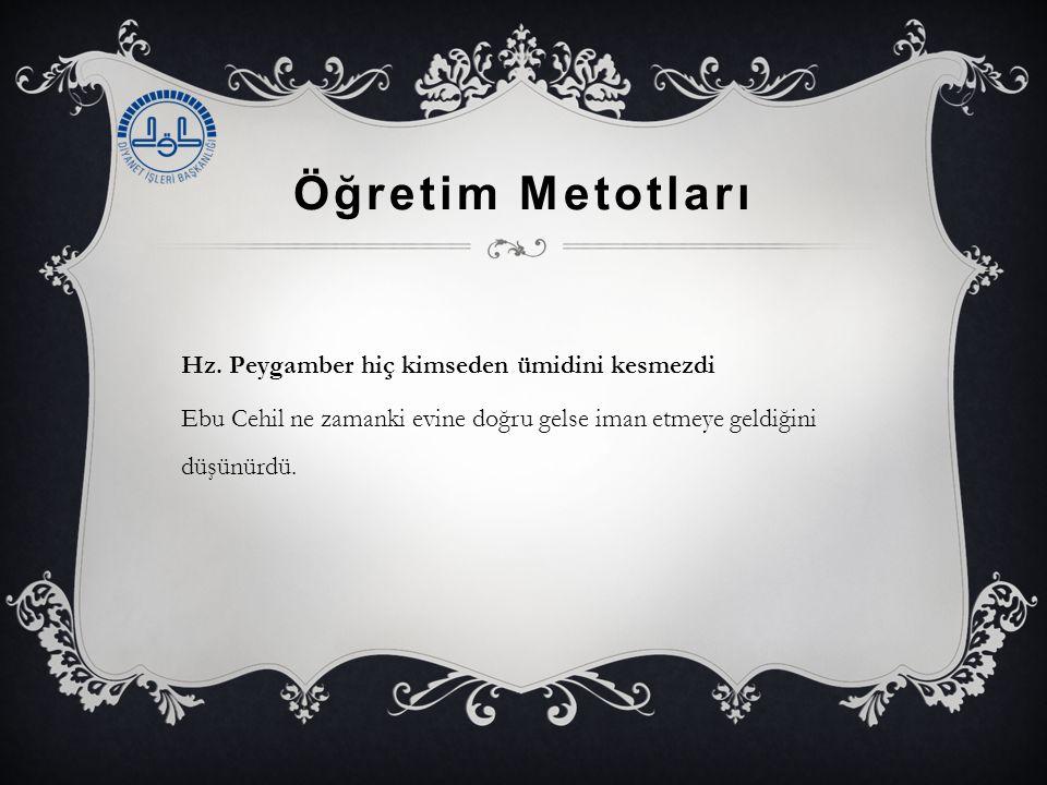Öğretim Metotları Hz.