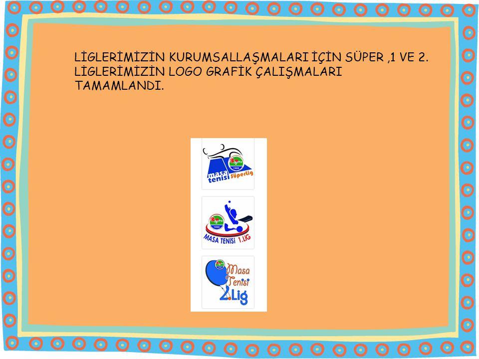 LİGLERİMİZİN KURUMSALLAŞMALARI İÇİN SÜPER ,1 VE 2