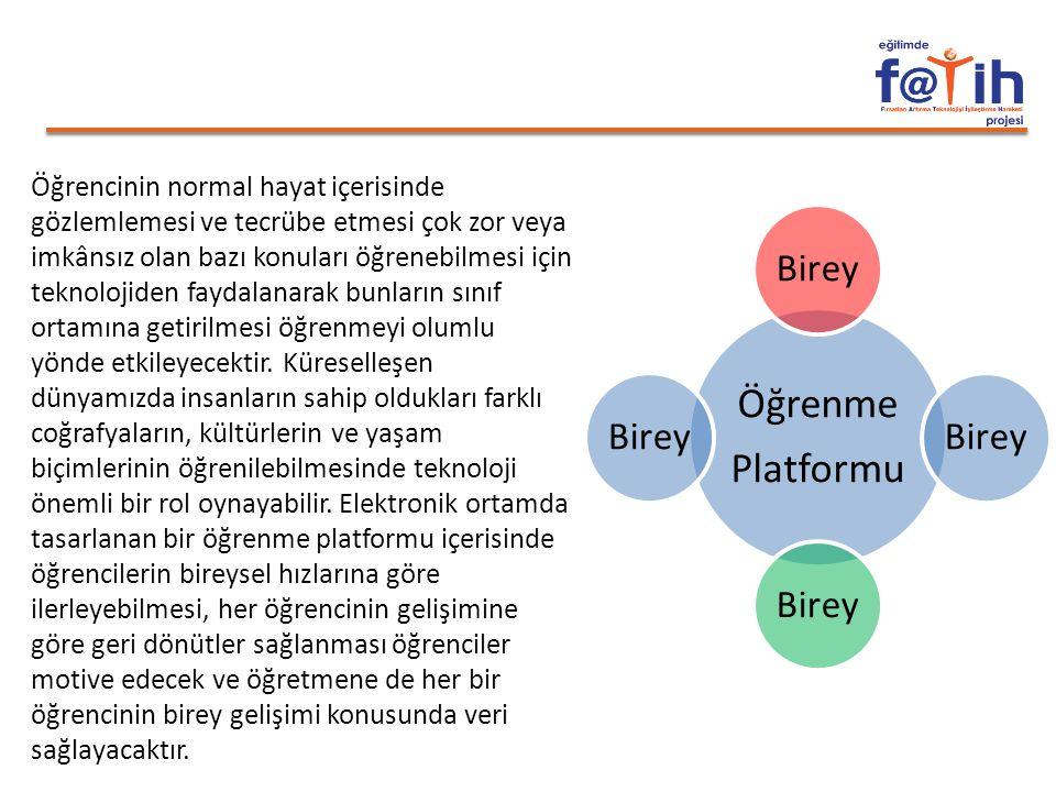 Öğrenme Platformu Birey