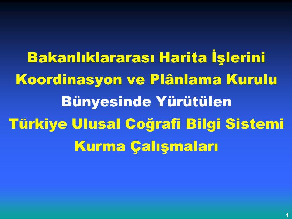 Bakanlıklararası Harita İşlerini Koordinasyon ve Planlama Kurulu Toplantısı, 27 Mart 2003, Ankara