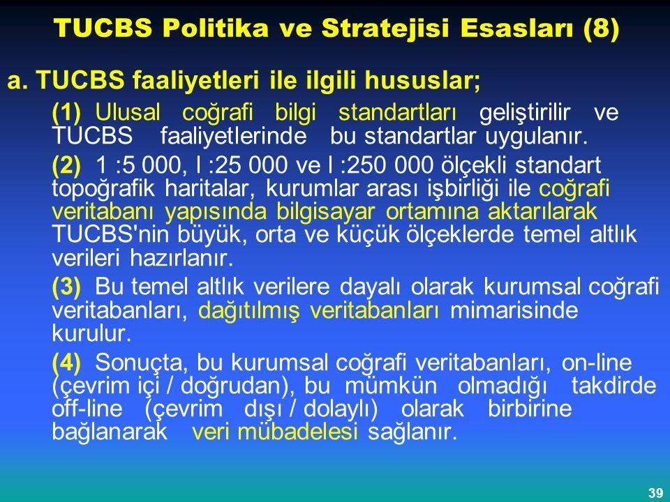 TUCBS Politika ve Stratejisi Esasları (8)