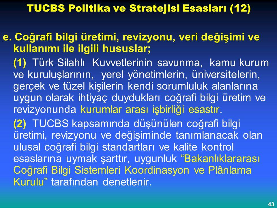 TUCBS Politika ve Stratejisi Esasları (12)