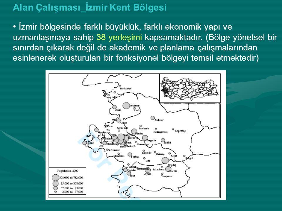 Alan Çalışması_İzmir Kent Bölgesi