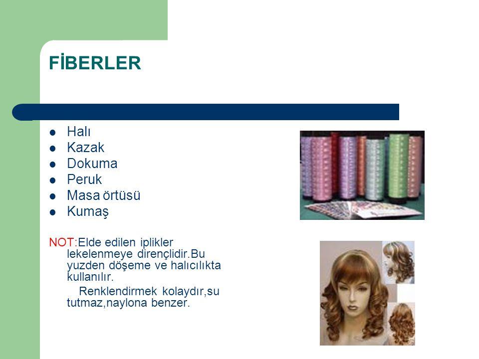FİBERLER Halı Kazak Dokuma Peruk Masa örtüsü Kumaş