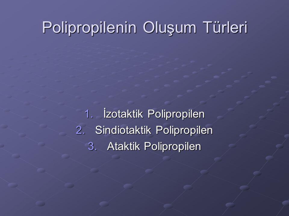 Polipropilenin Oluşum Türleri