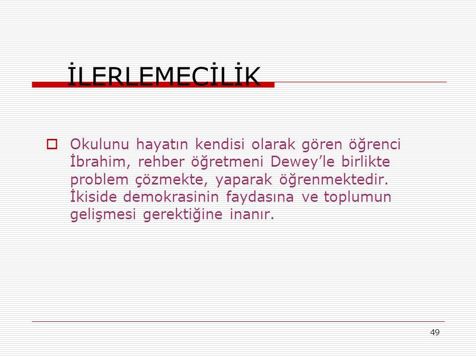 İLERLEMECİLİK