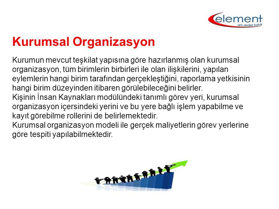 Kurumsal Organizasyon