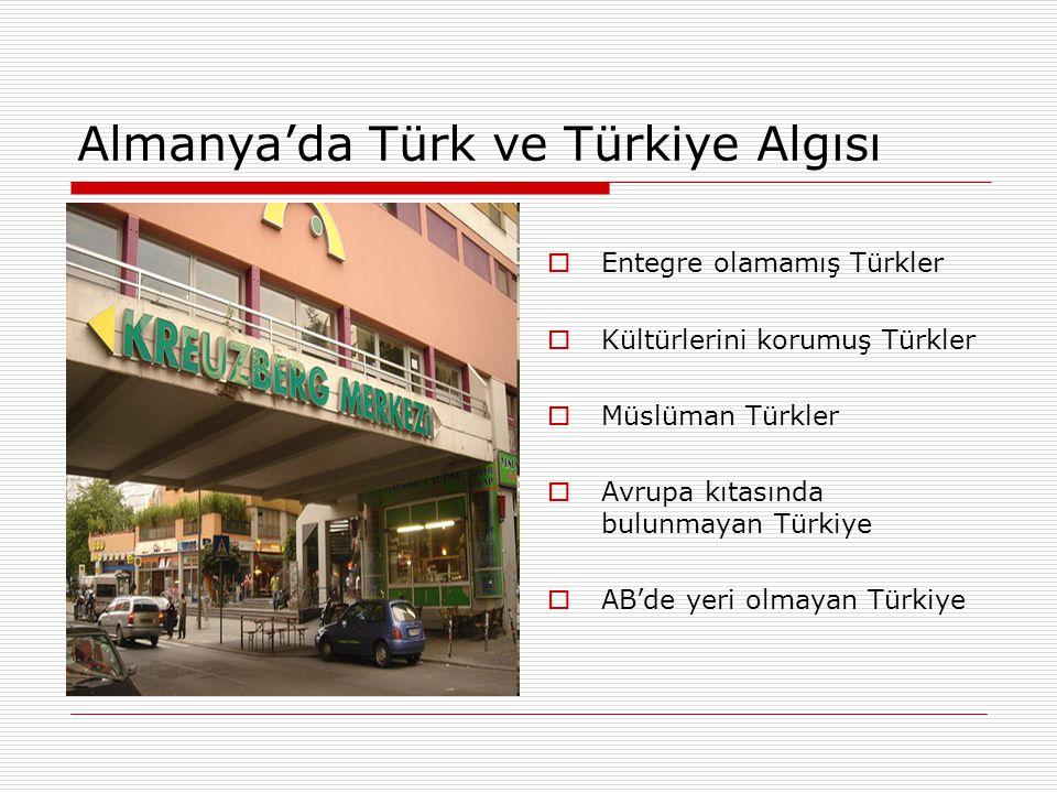 Almanya'da Türk ve Türkiye Algısı
