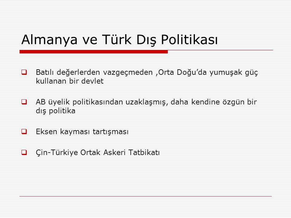 Almanya ve Türk Dış Politikası