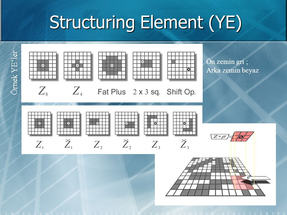 Structuring Element (YE)