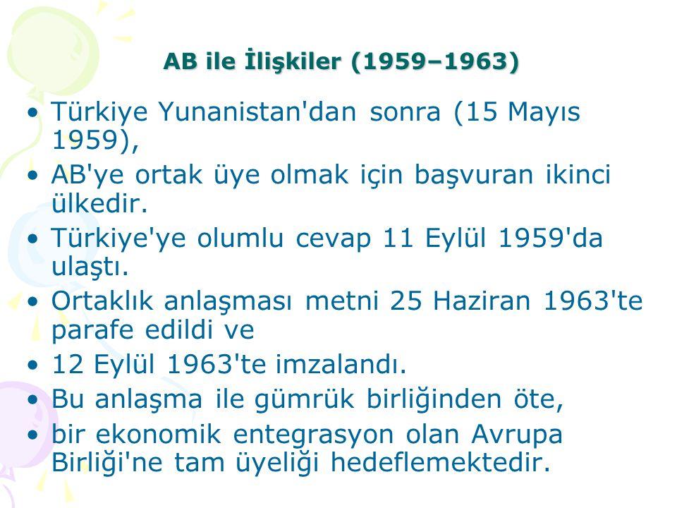 Türkiye Yunanistan dan sonra (15 Mayıs 1959),