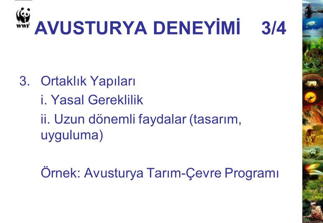 AVUSTURYA DENEYİMİ 3/4 3. Ortaklık Yapıları i. Yasal Gereklilik
