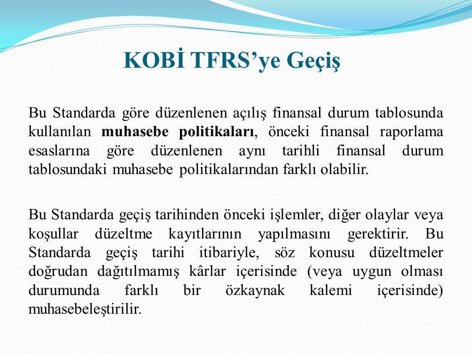 KOBİ TFRS'ye Geçiş