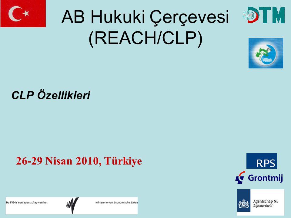 AB Hukuki Çerçevesi (REACH/CLP)