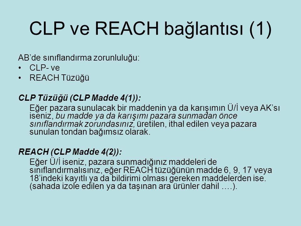 CLP ve REACH bağlantısı (1)