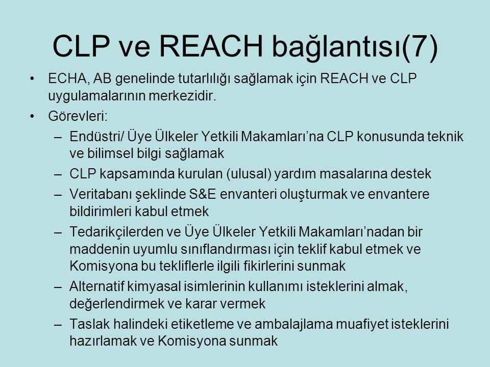 CLP ve REACH bağlantısı(7)