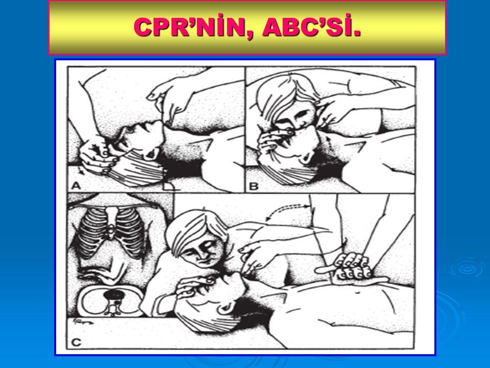 CPR'NİN, ABC'Sİ.