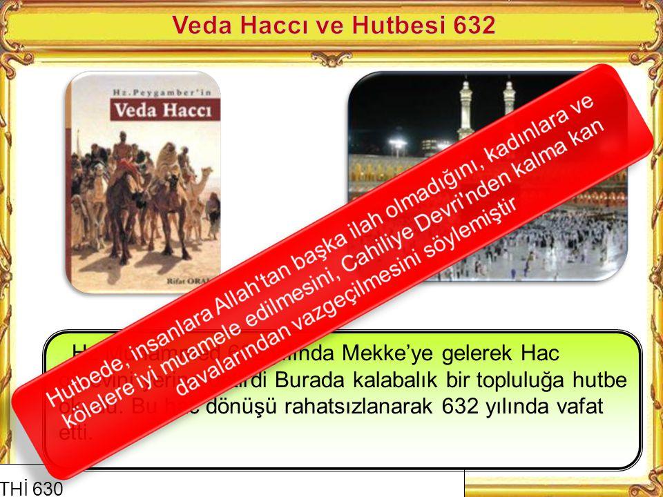 Veda Haccı ve Hutbesi 632