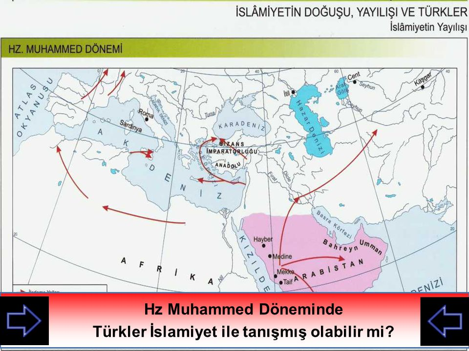 Türkler İslamiyet ile tanışmış olabilir mi