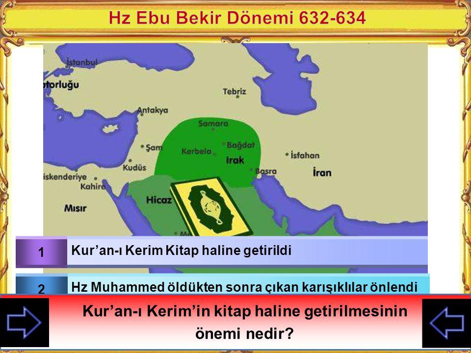 Kur'an-ı Kerim'in kitap haline getirilmesinin
