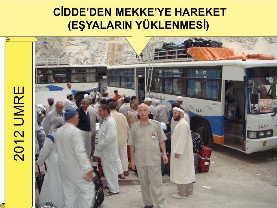 CİDDE'DEN MEKKE'YE HAREKET (EŞYALARIN YÜKLENMESİ)